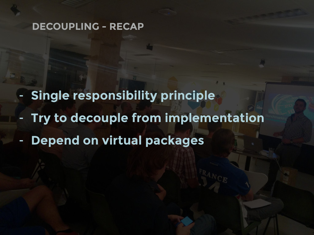 DECOUPLING - RECAP - Single responsibility prin...