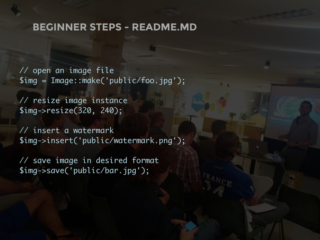 BEGINNER STEPS - README.MD // open an image fil...