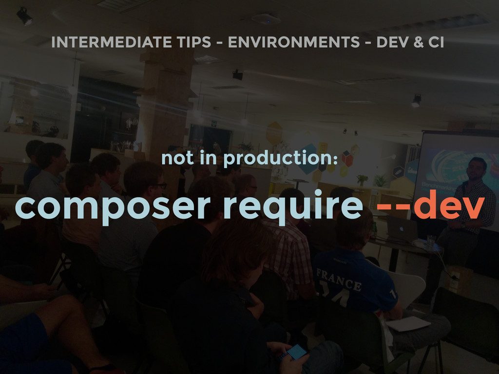 INTERMEDIATE TIPS - ENVIRONMENTS - DEV & CI not...