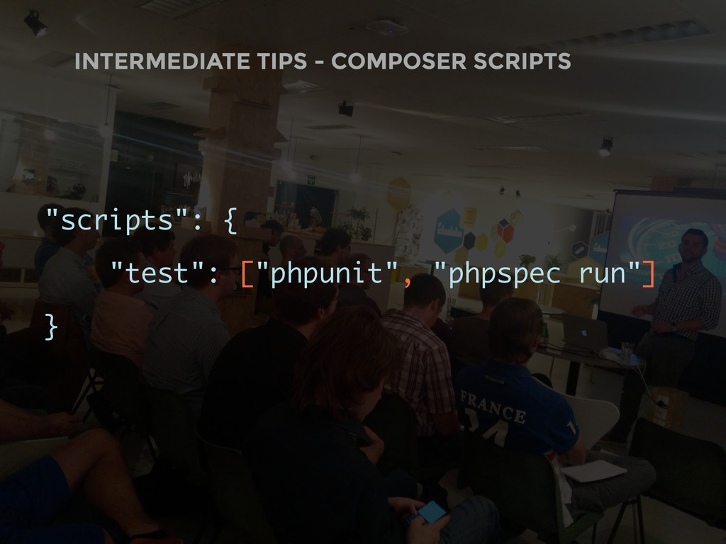 "INTERMEDIATE TIPS - COMPOSER SCRIPTS ""scripts"":..."
