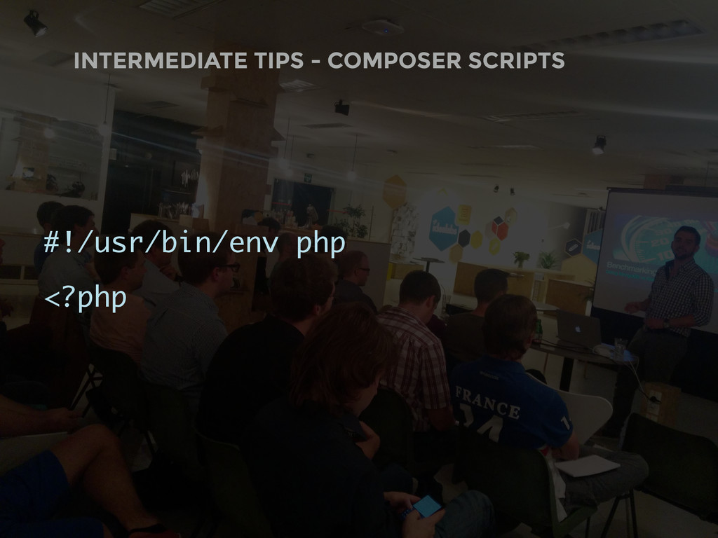 INTERMEDIATE TIPS - COMPOSER SCRIPTS #!/usr/bin...