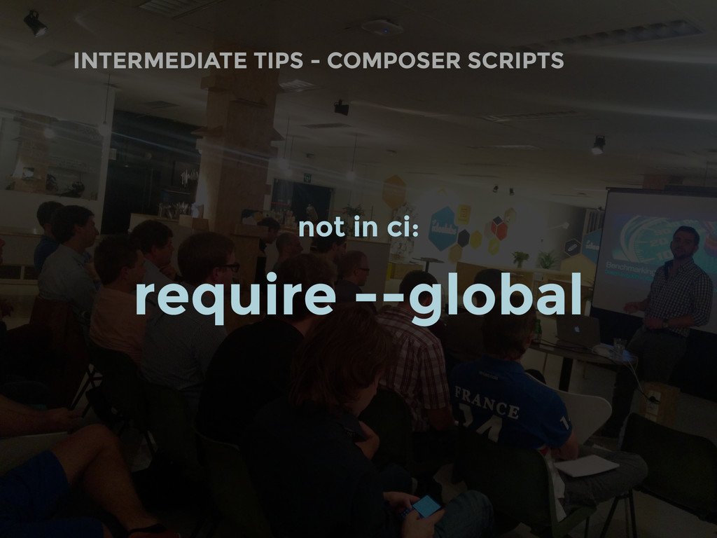 INTERMEDIATE TIPS - COMPOSER SCRIPTS not in ci:...