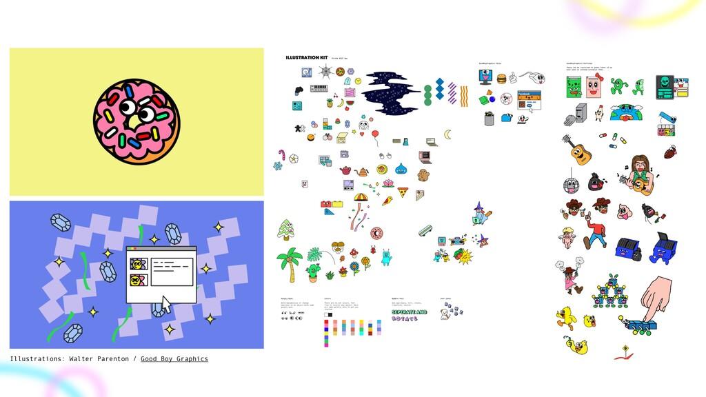 Illustrations: Walter Parenton / Good Boy Graph...