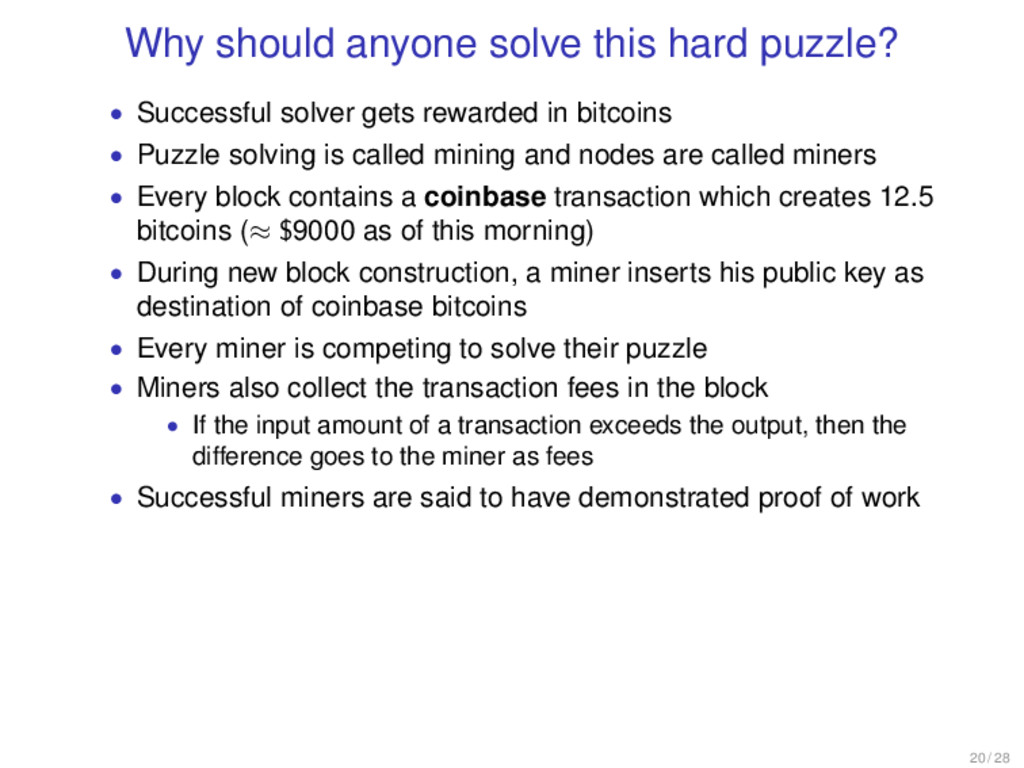 Why should anyone solve this hard puzzle? • Suc...