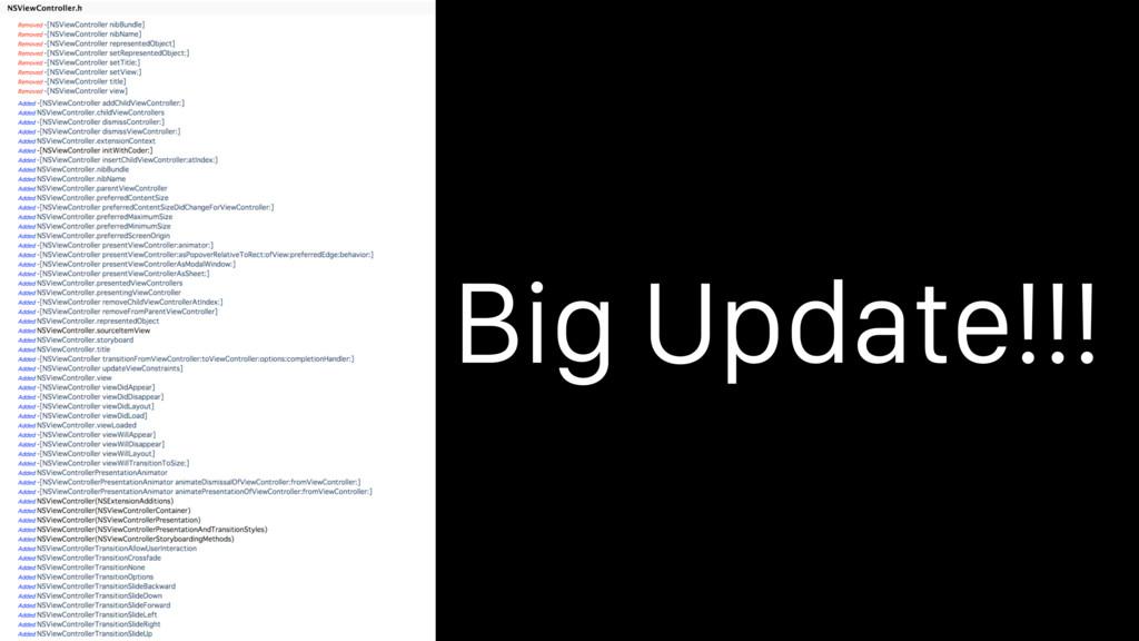 Big Update!!!