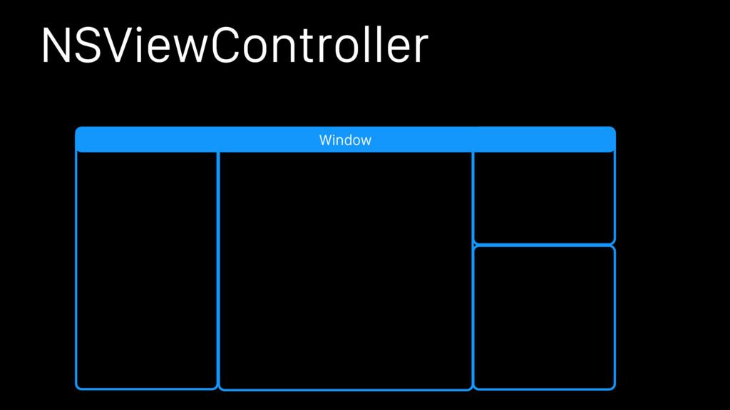 NSViewController Window