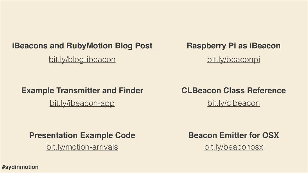 bit.ly/blog-ibeacon bit.ly/ibeacon-app iBeacons...