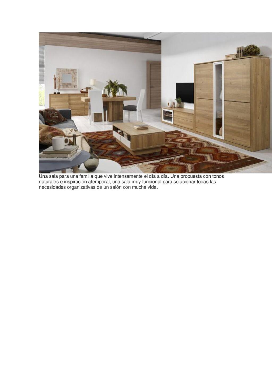 Una sala para una familia que vive intensamente...