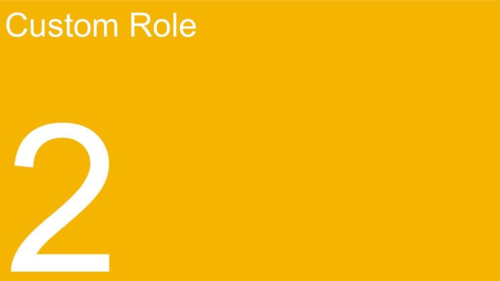 Custom Role 2