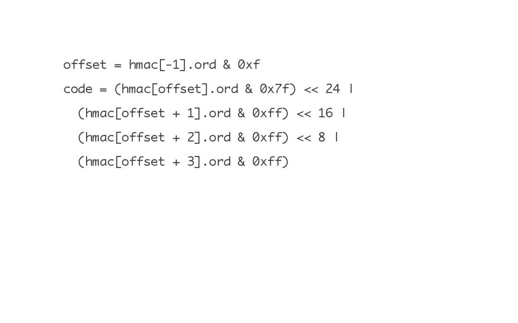 o f f s e t = h m a c [ - 1 ] . o r d & 0 x f c...