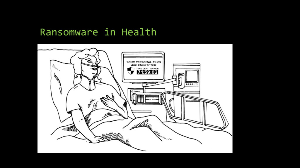 Ransomware in Health