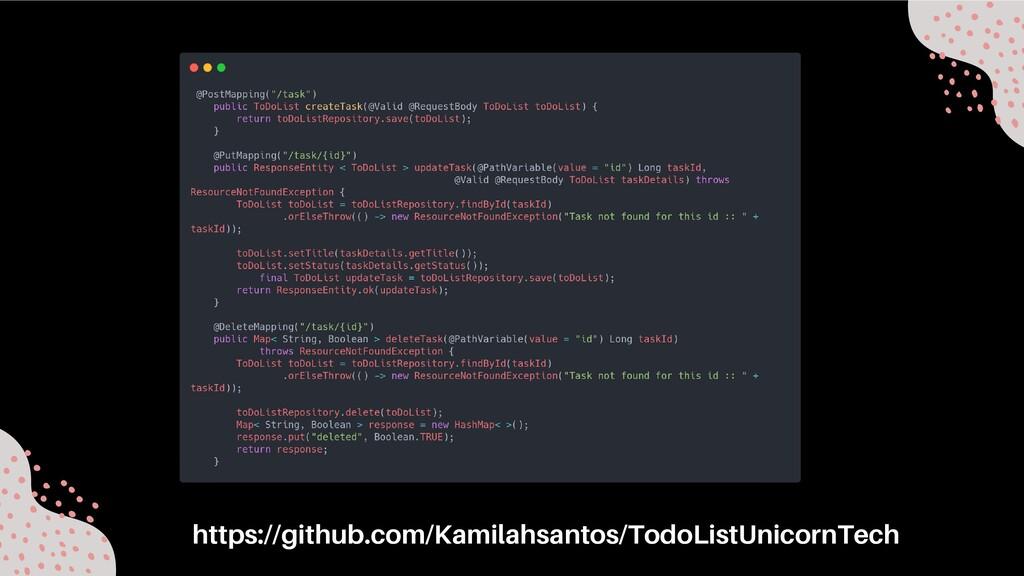 https://github.com/Kamilahsantos/TodoListUnicor...