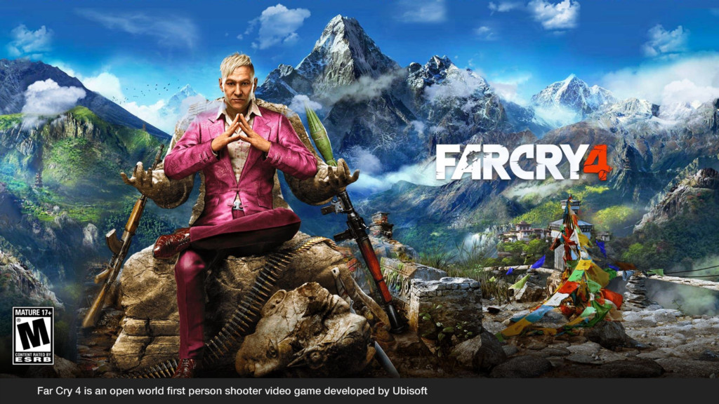 Far Cry 4 is an open world first person shooter ...