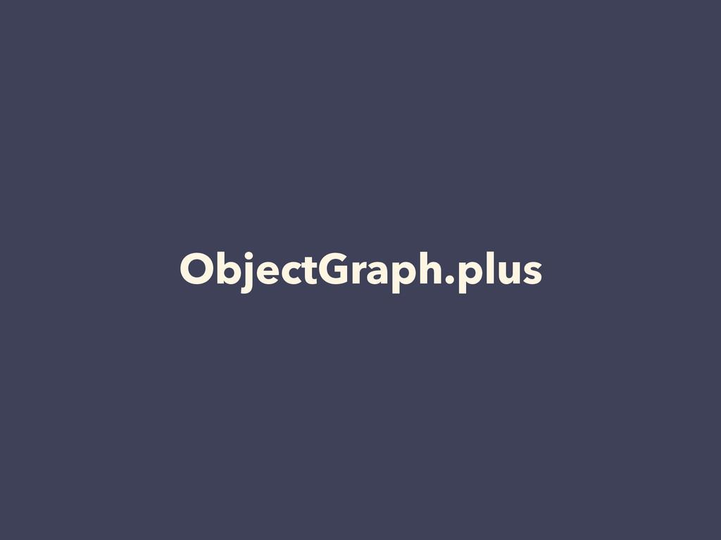 ObjectGraph.plus