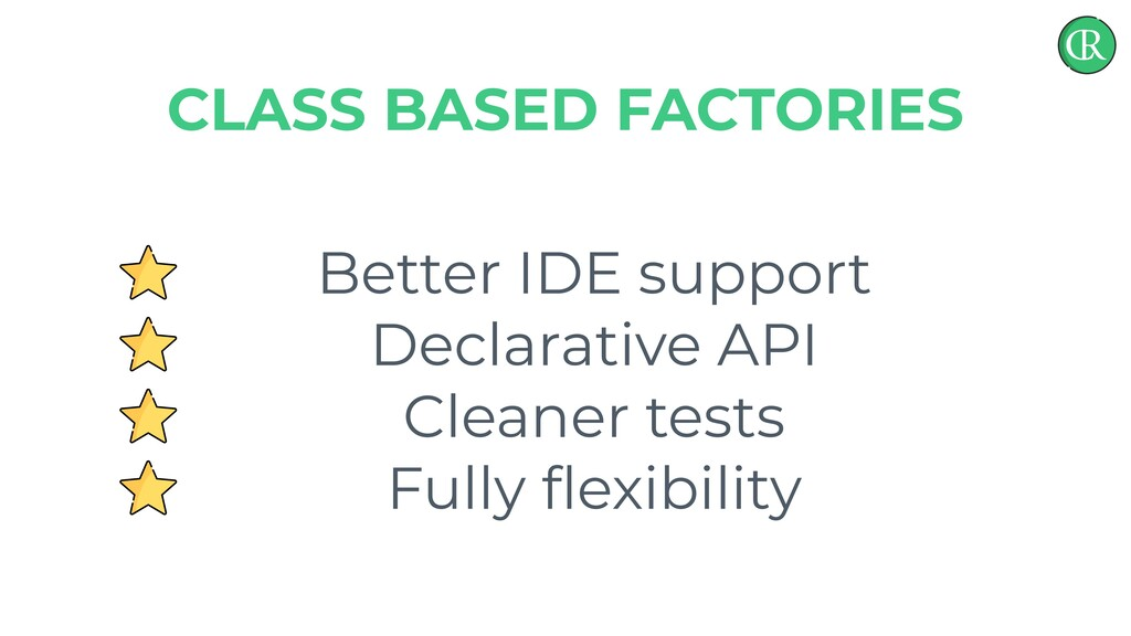 Better IDE support Declarative API Cleaner test...