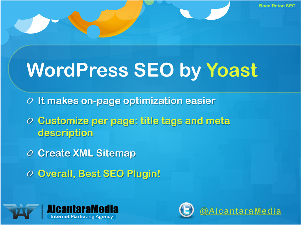 Boca Raton SEO WordPress SEO by Yoast !  It ma...
