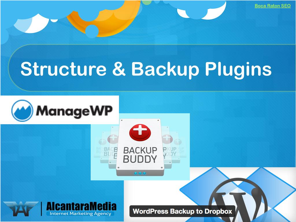 Boca Raton SEO Structure & Backup Plugins