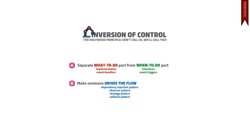 INVERSION OF CONTROL Separate WHAT-TO-DO part f...