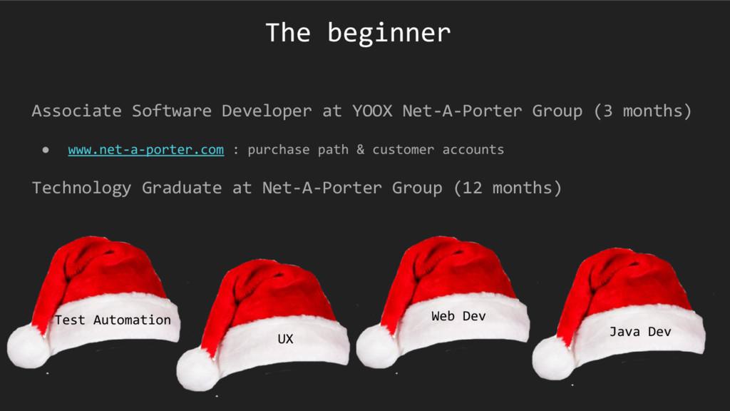 The beginner Associate Software Developer at YO...