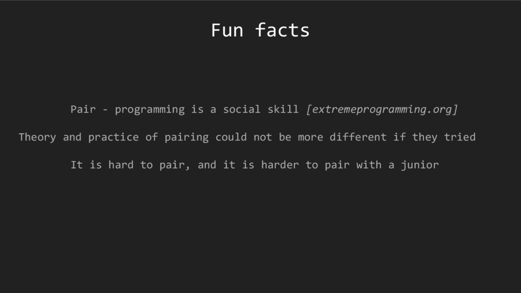 Pair - programming is a social skill [extremepr...