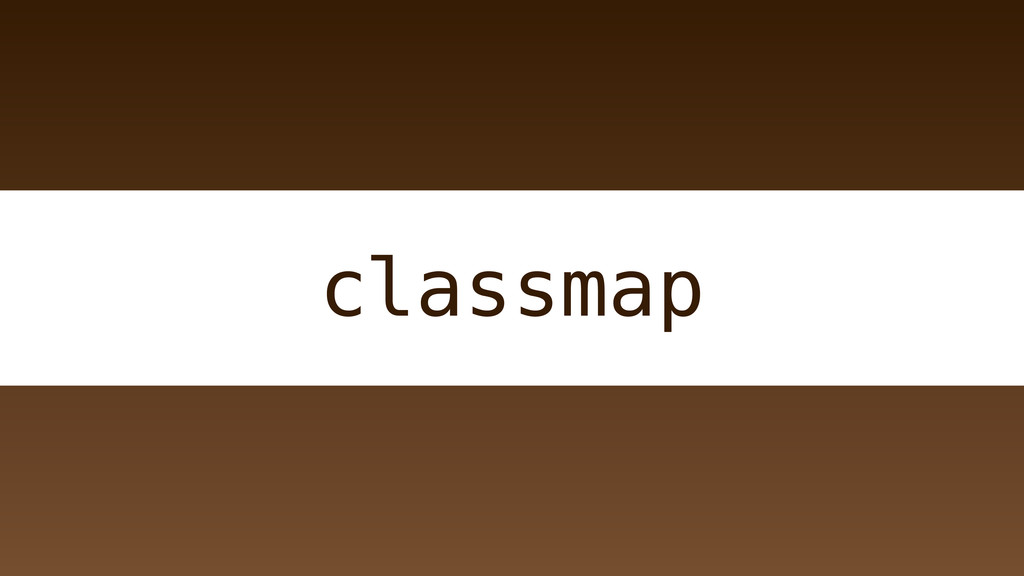 classmap