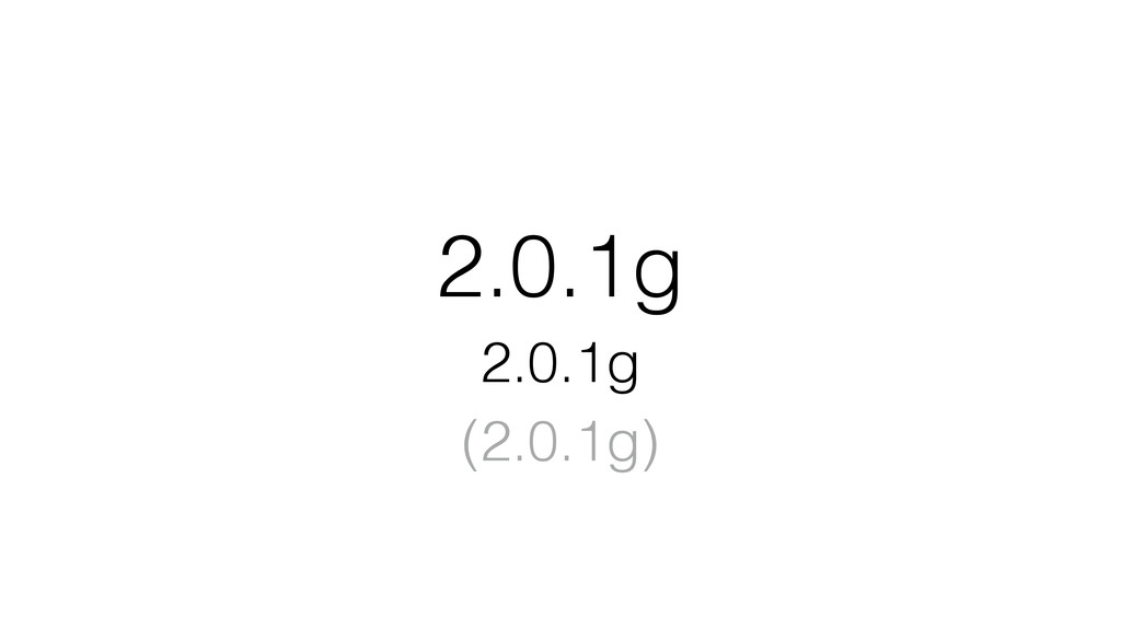 2.0.1g 2.0.1g (2.0.1g)
