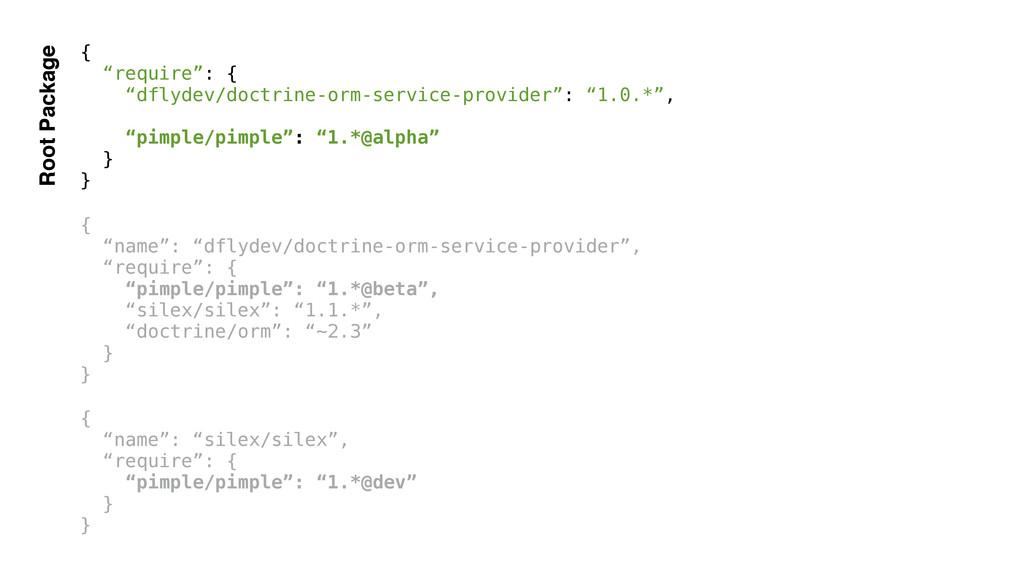 "{ ""require"": { ""dflydev/doctrine-orm-service-pr..."
