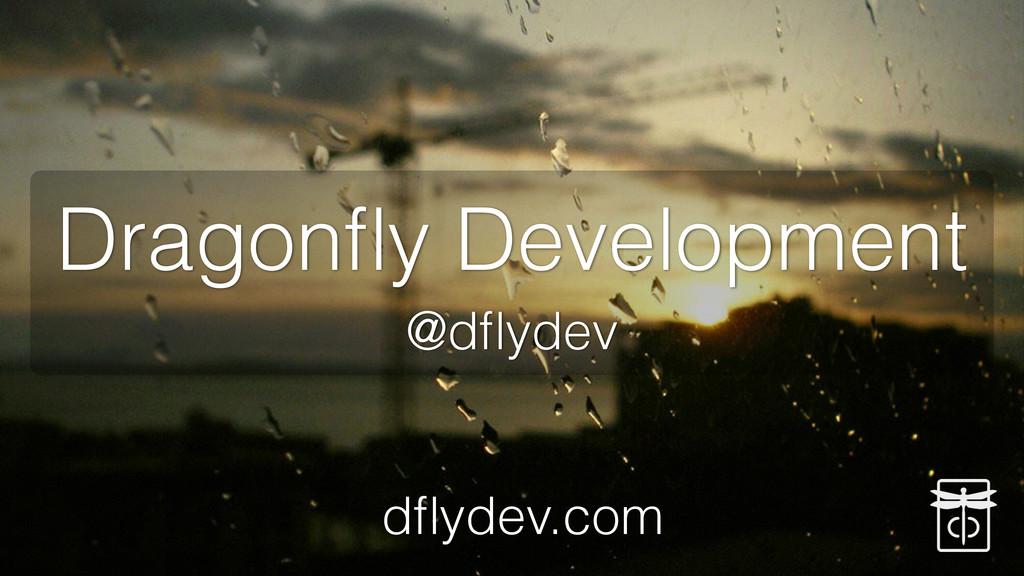 Dragonfly Development @dflydev dflydev.com