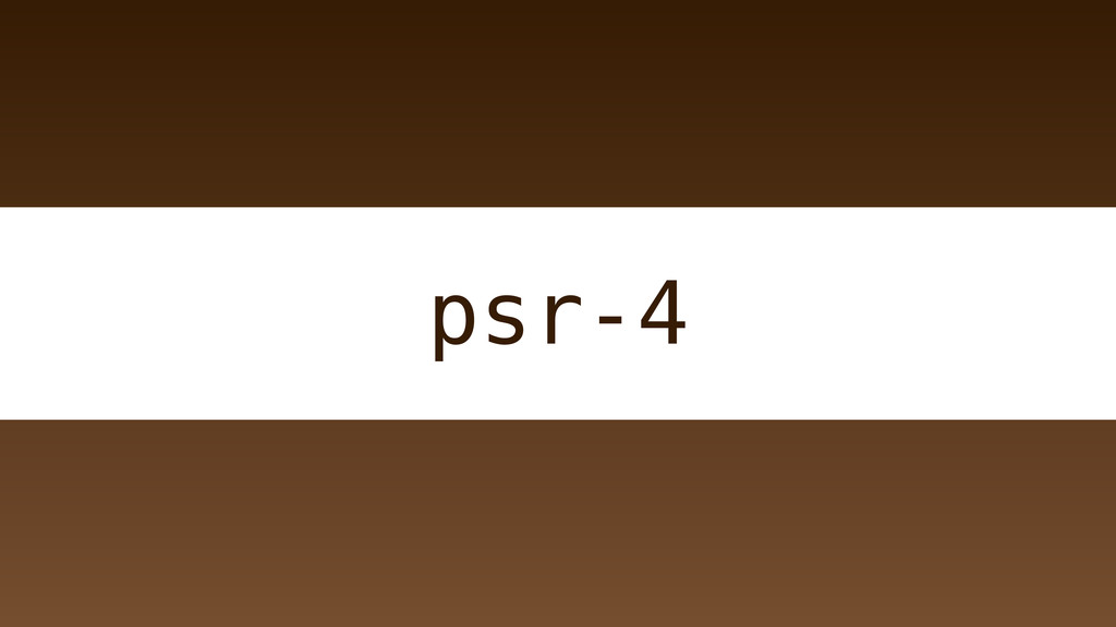 psr-4
