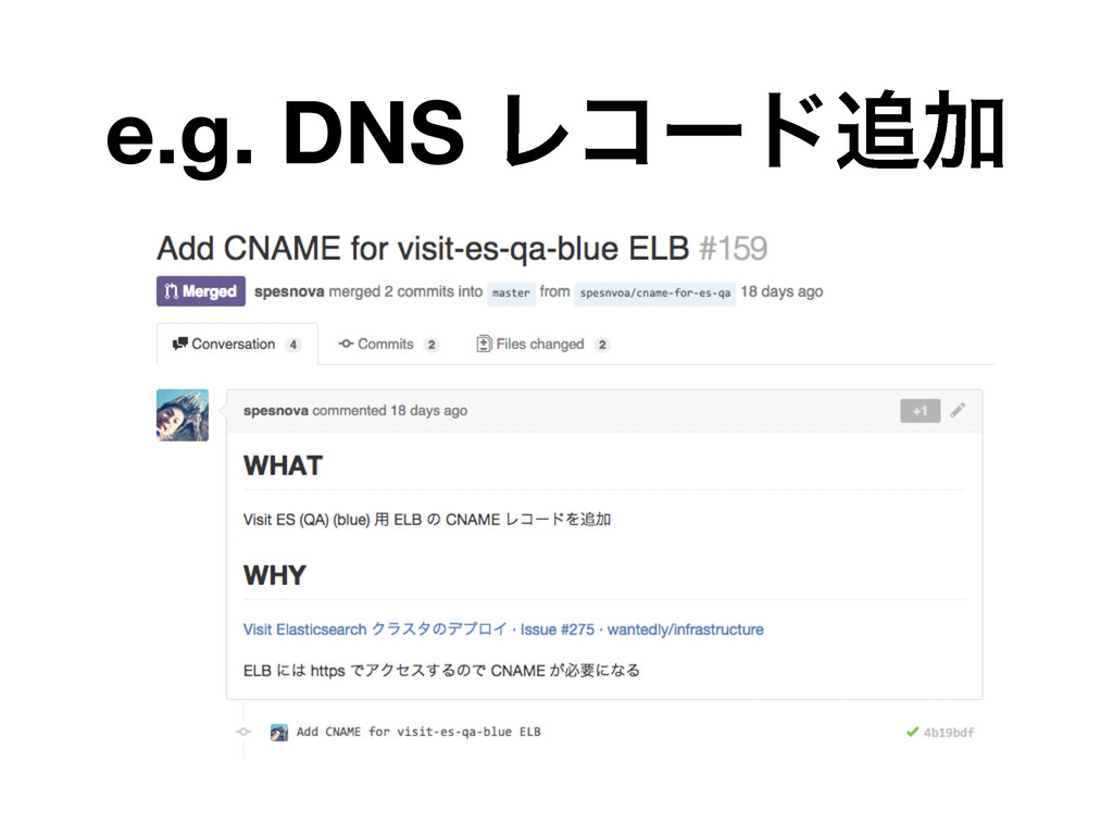 e.g. DNS ϨίʔυՃ