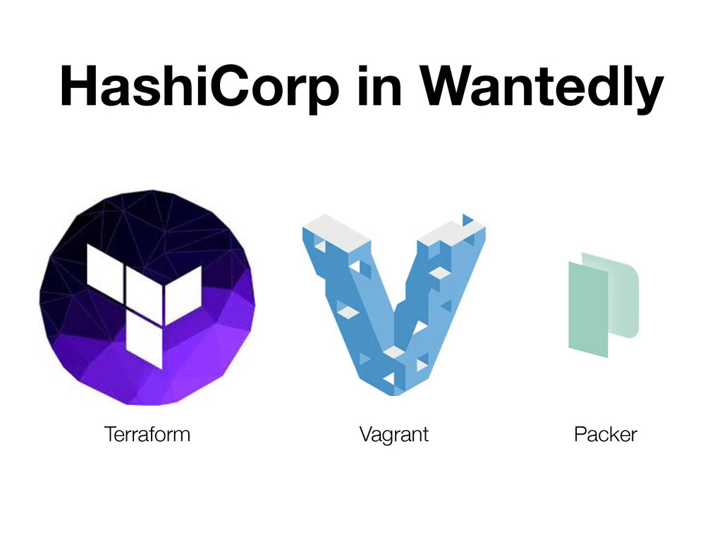 HashiCorp in Wantedly Terraform Vagrant Packer