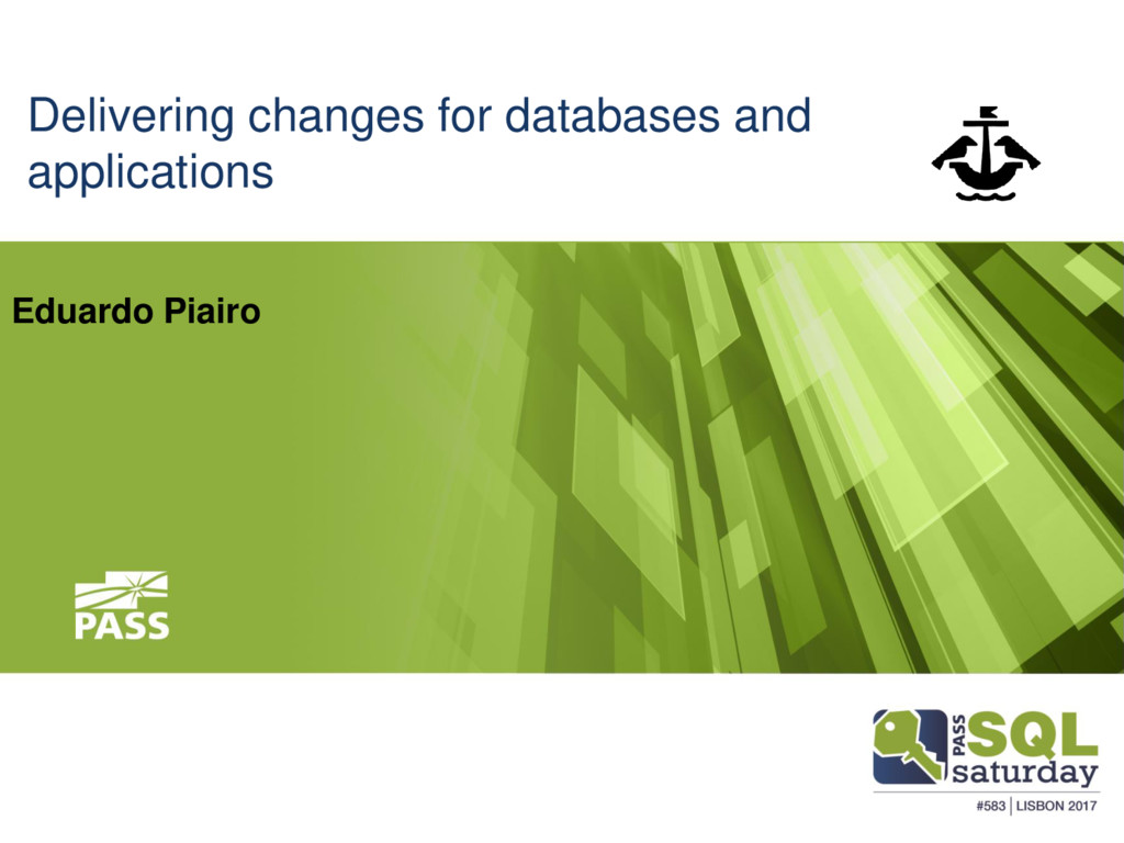 Delivering changes for databases and applicatio...