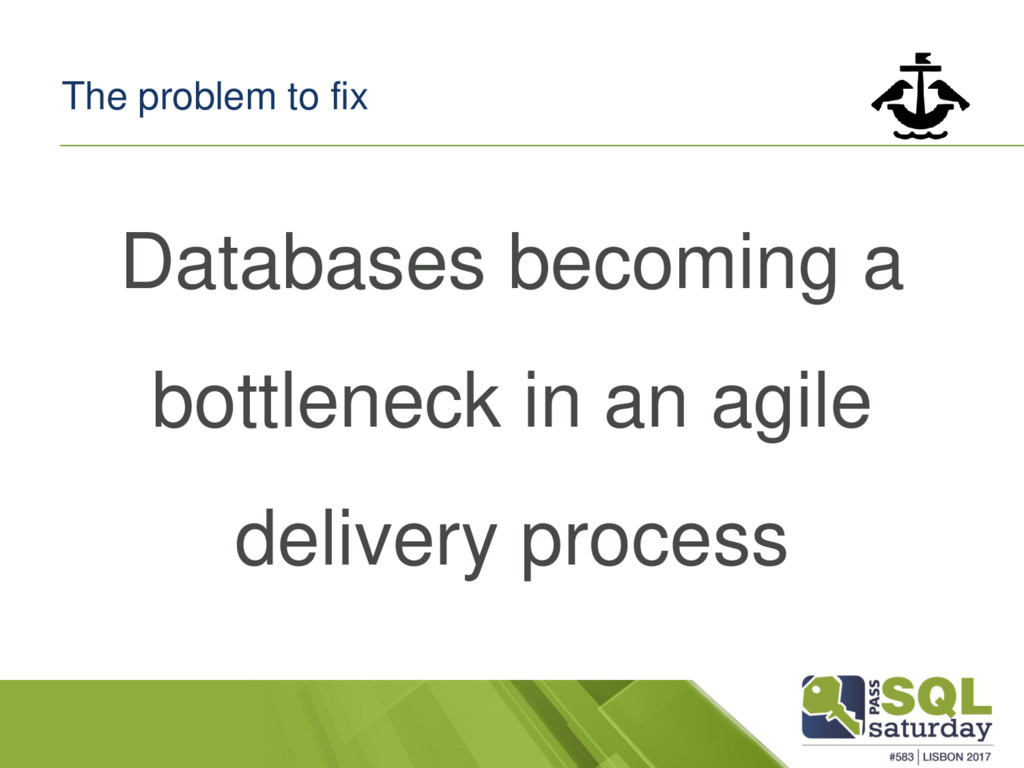 The problem to fix Databases becoming a bottlen...