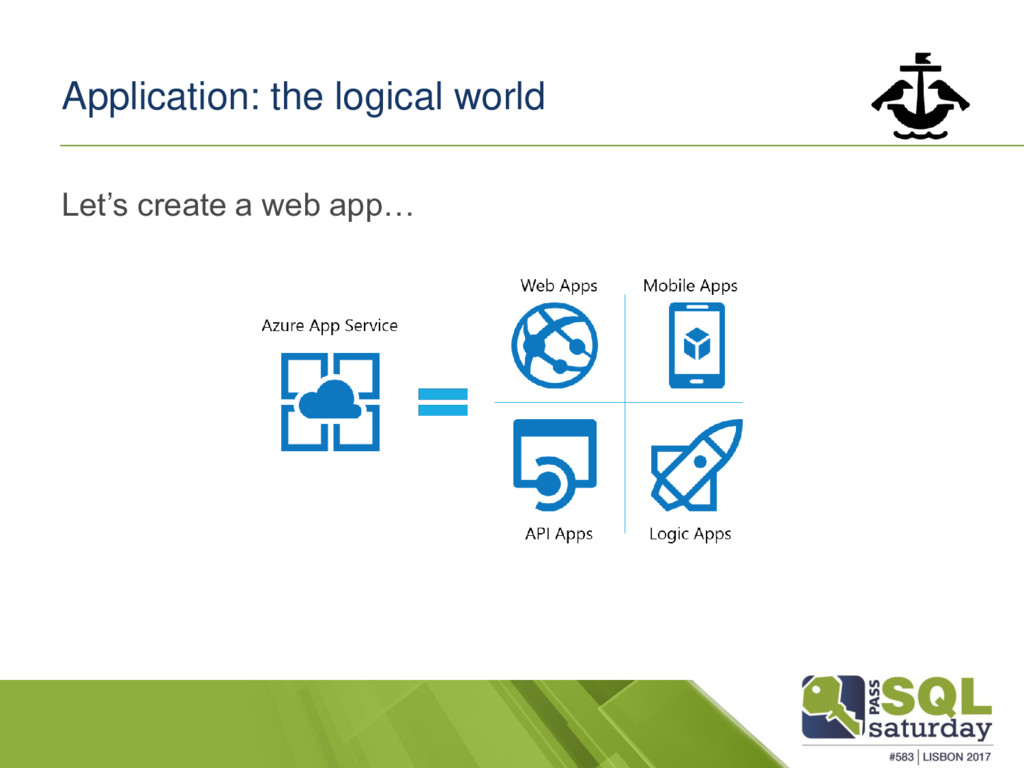 Application: the logical world Let's create a w...