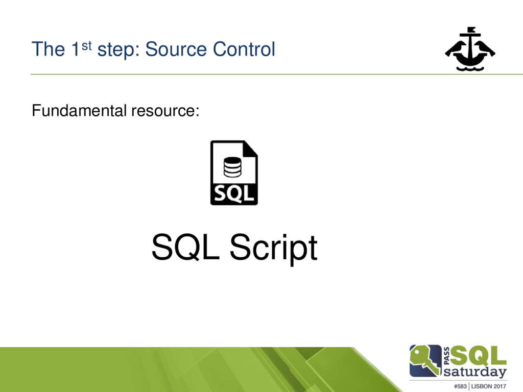 The 1st step: Source Control Fundamental resour...