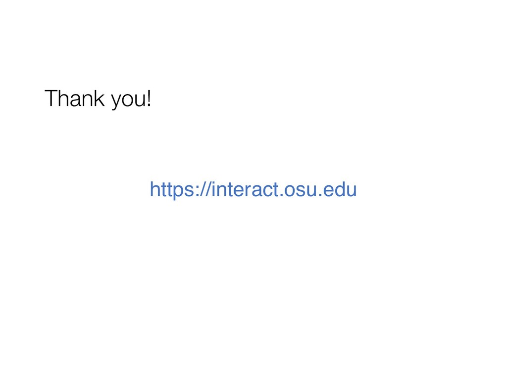 Thank you! https://interact.osu.edu