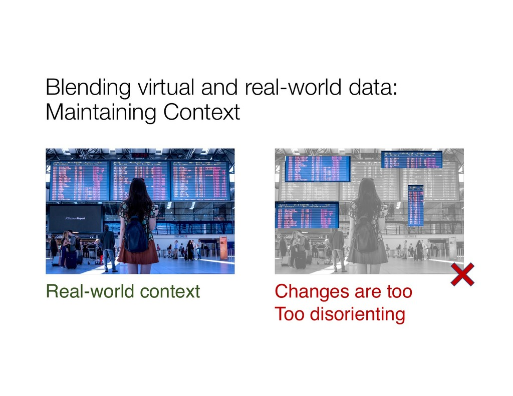 Blending virtual and real-world data: Maintaini...
