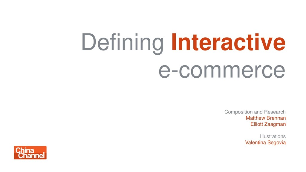 Defining Interactive e-commerce Composition and...
