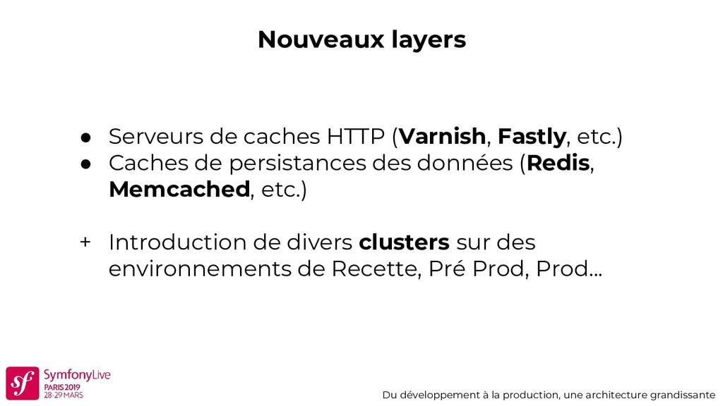 Nouveaux layers Du développement à la productio...