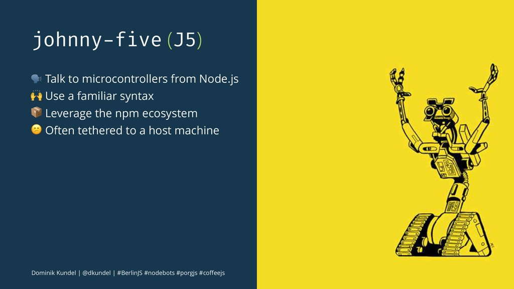 johnny-five (J5) ! Talk to microcontrollers fro...