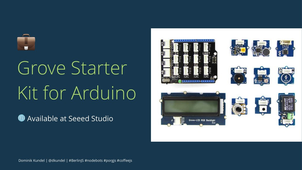 ! Grove Starter Kit for Arduino ! Available at ...
