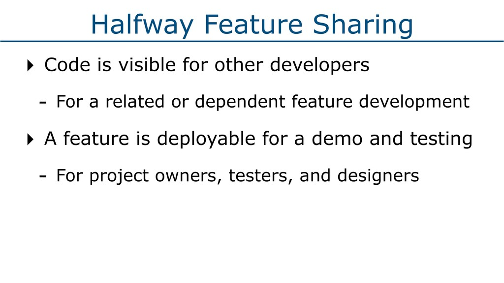 Halfway Feature Sharing ‣ Code is visible for o...