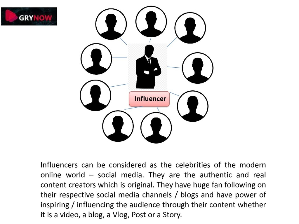 Influencers can be considered as the celebritie...
