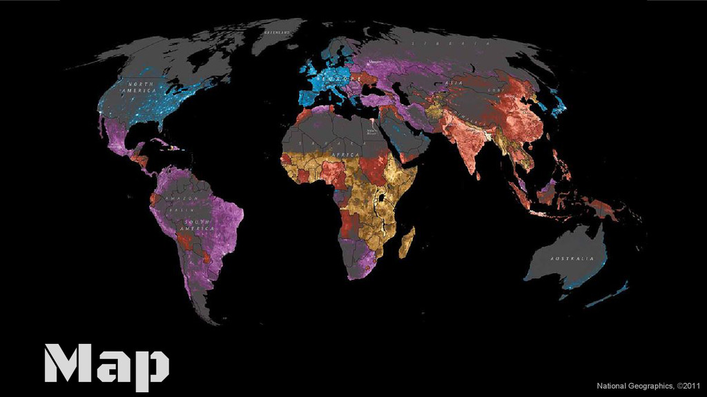 Map National Geographics, ©2011