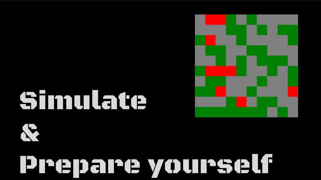 Simulate & Prepare yourself