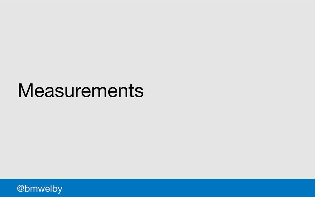 GDS Measurements @bmwelby