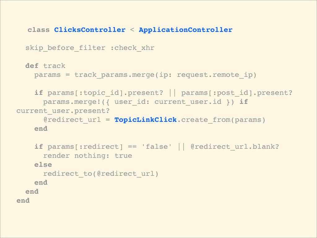 class ClicksController < ApplicationController ...