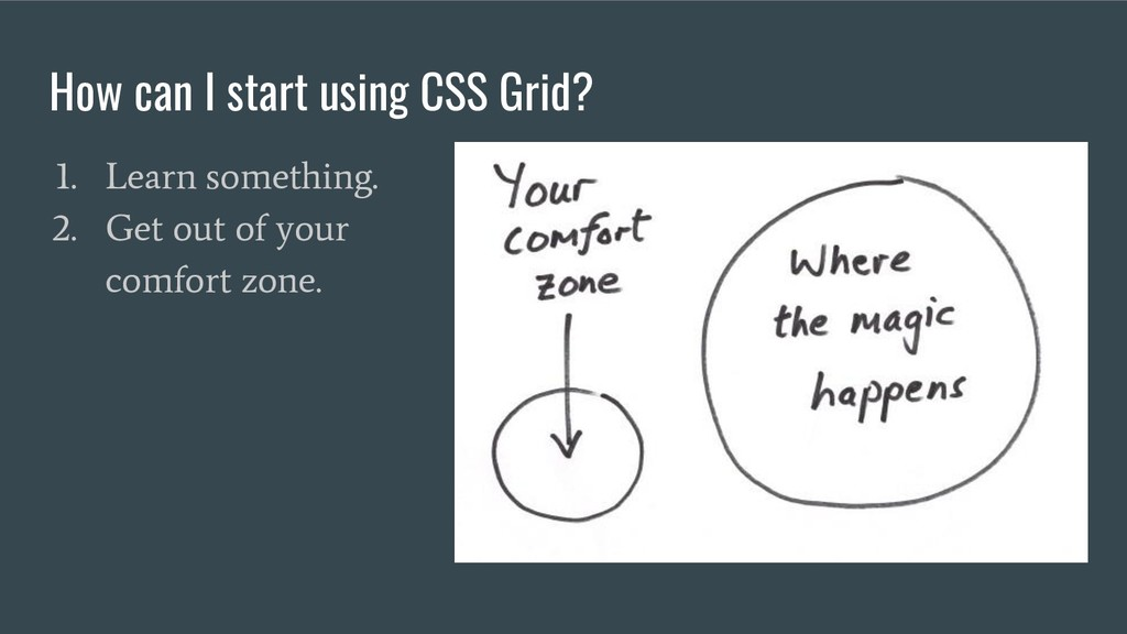 How can I start using CSS Grid? 1. Learn someth...
