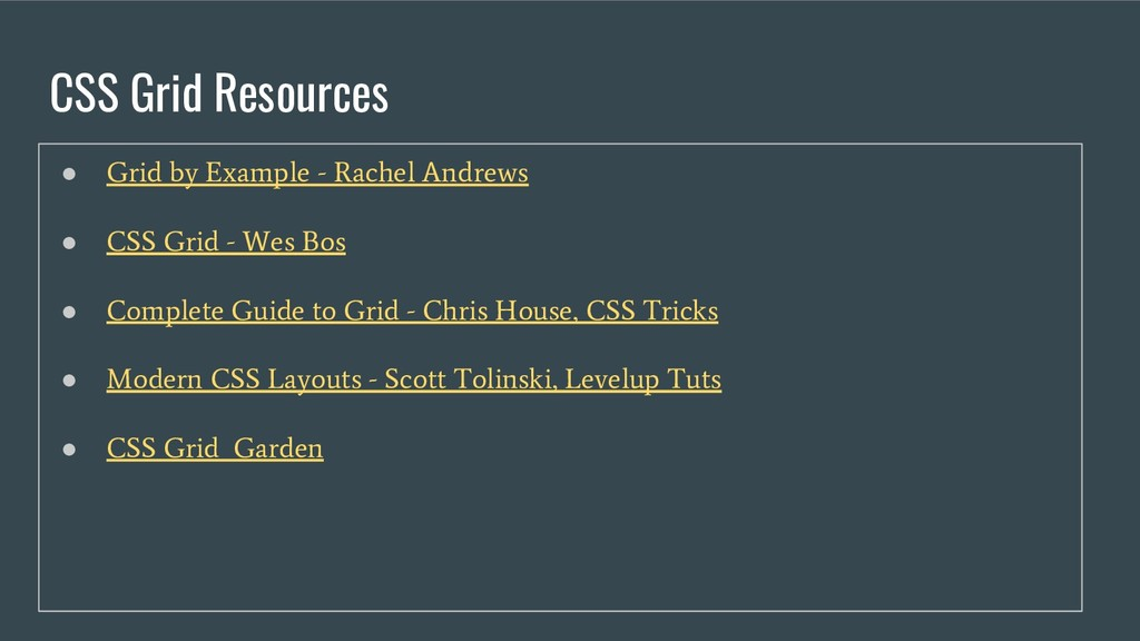 CSS Grid Resources ● Grid by Example - Rachel A...