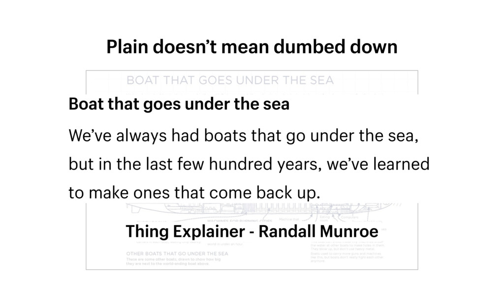 Plain doesn't mean dumbed down Boat that goes u...